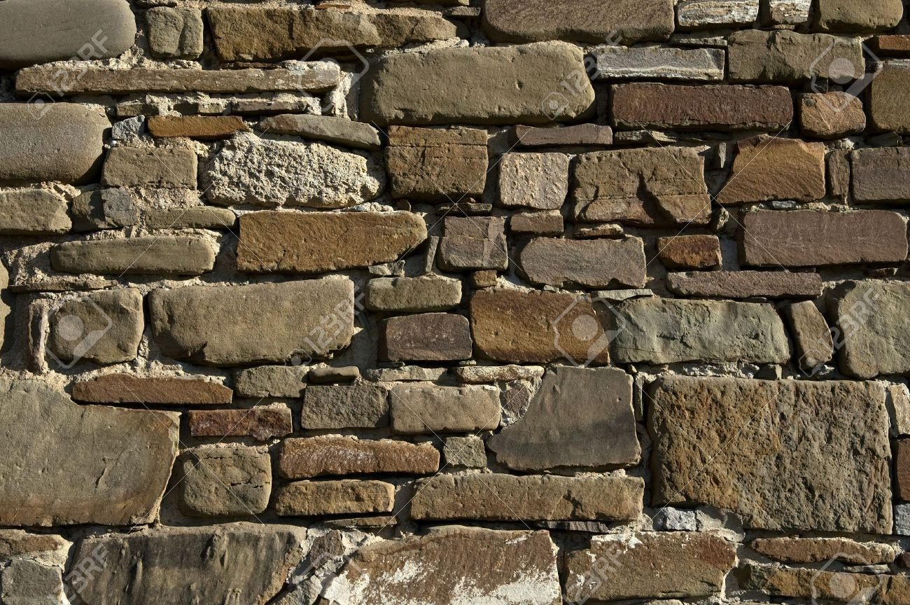 Decorative Stone Wall Background Stock Photo   2791828