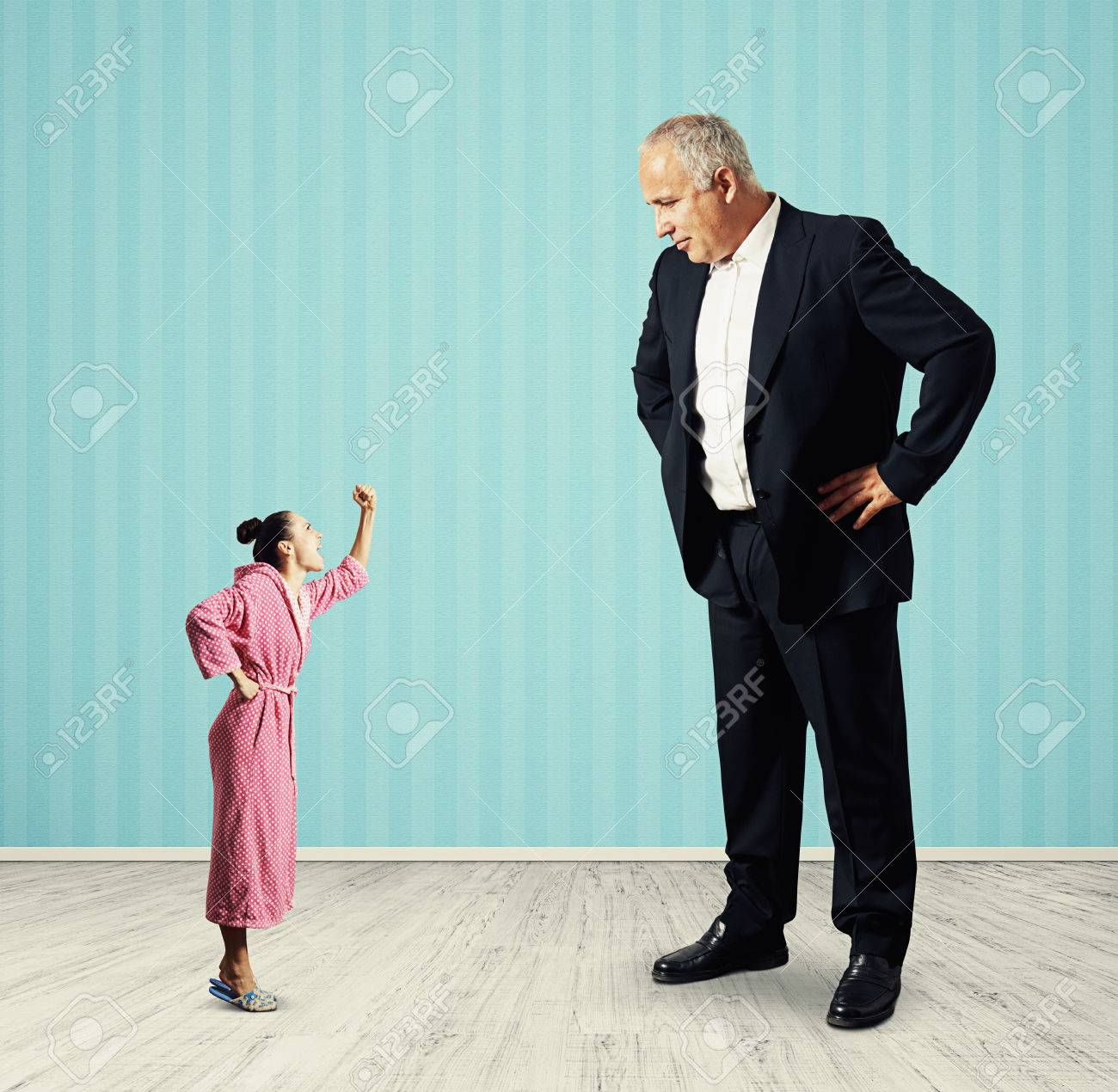 "Frau mann kleine großer ""Bergdoktor"""