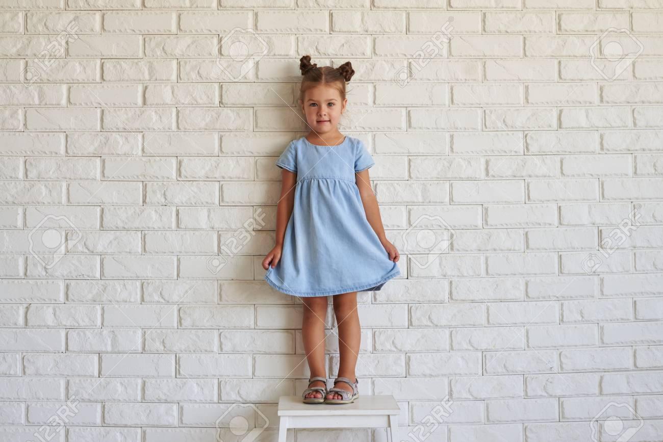 Moda vestido azul claro