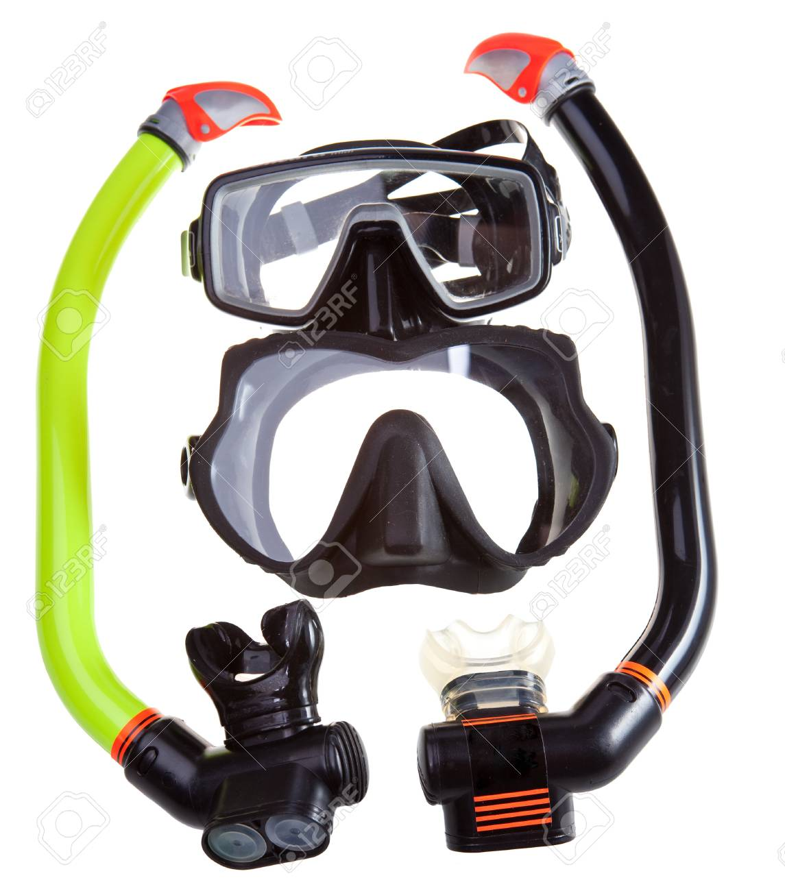Tube for diving (snorkel) and mask Stock Photo - 14272577