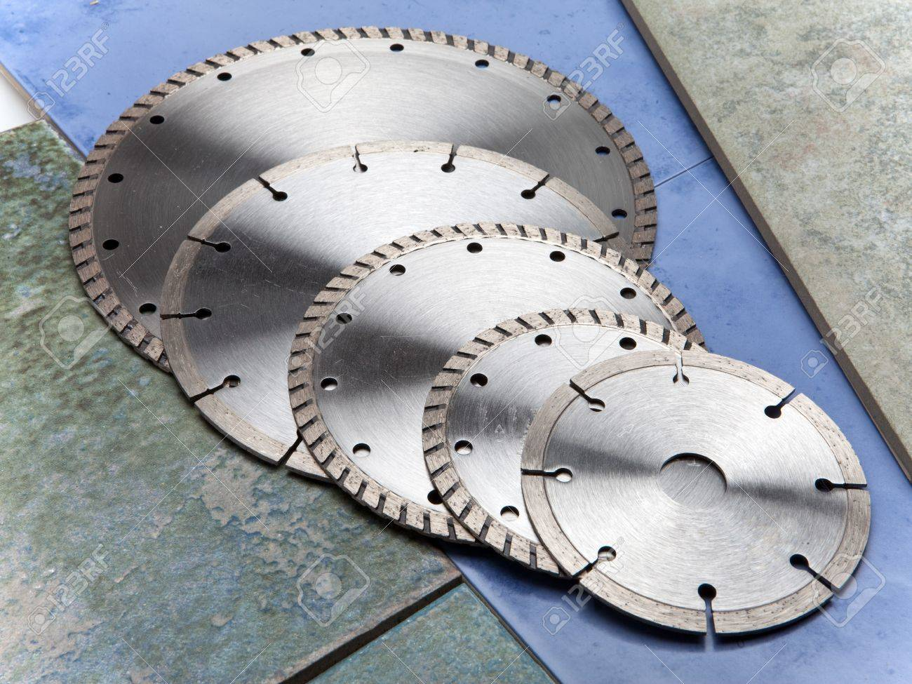 Diamond disks for  cutting and abrasion Stock Photo - 19067543