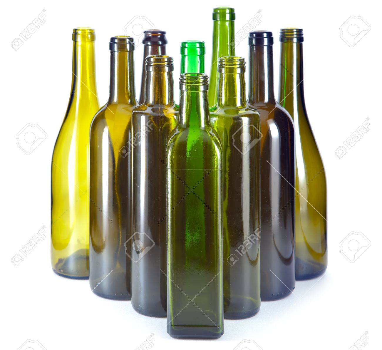 Bright colorful bottles Stock Photo - 19506032