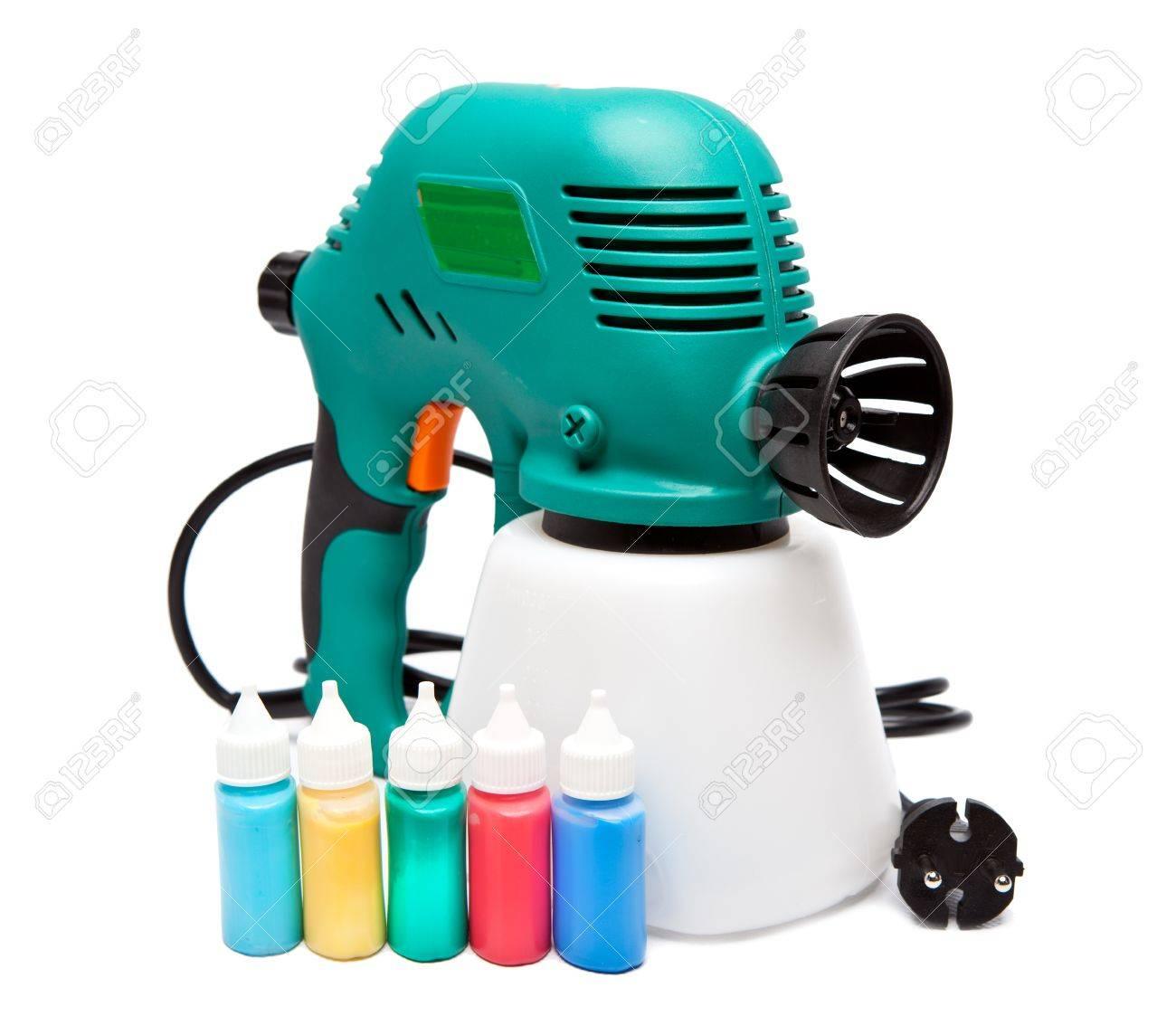 elektrische spritzpistole für färbung, für farb-pulverisierung und