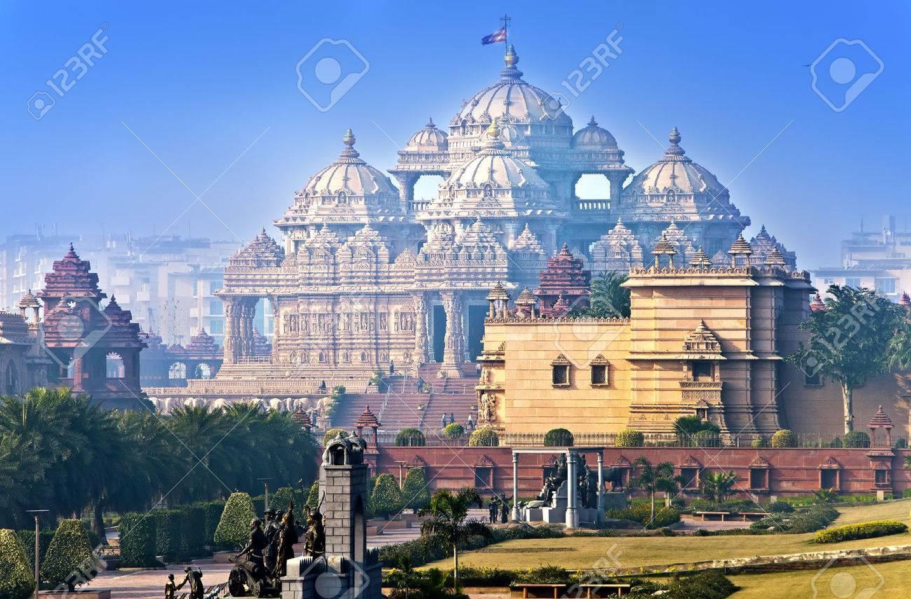 temple Akshardham, Delhi, India - 63103509