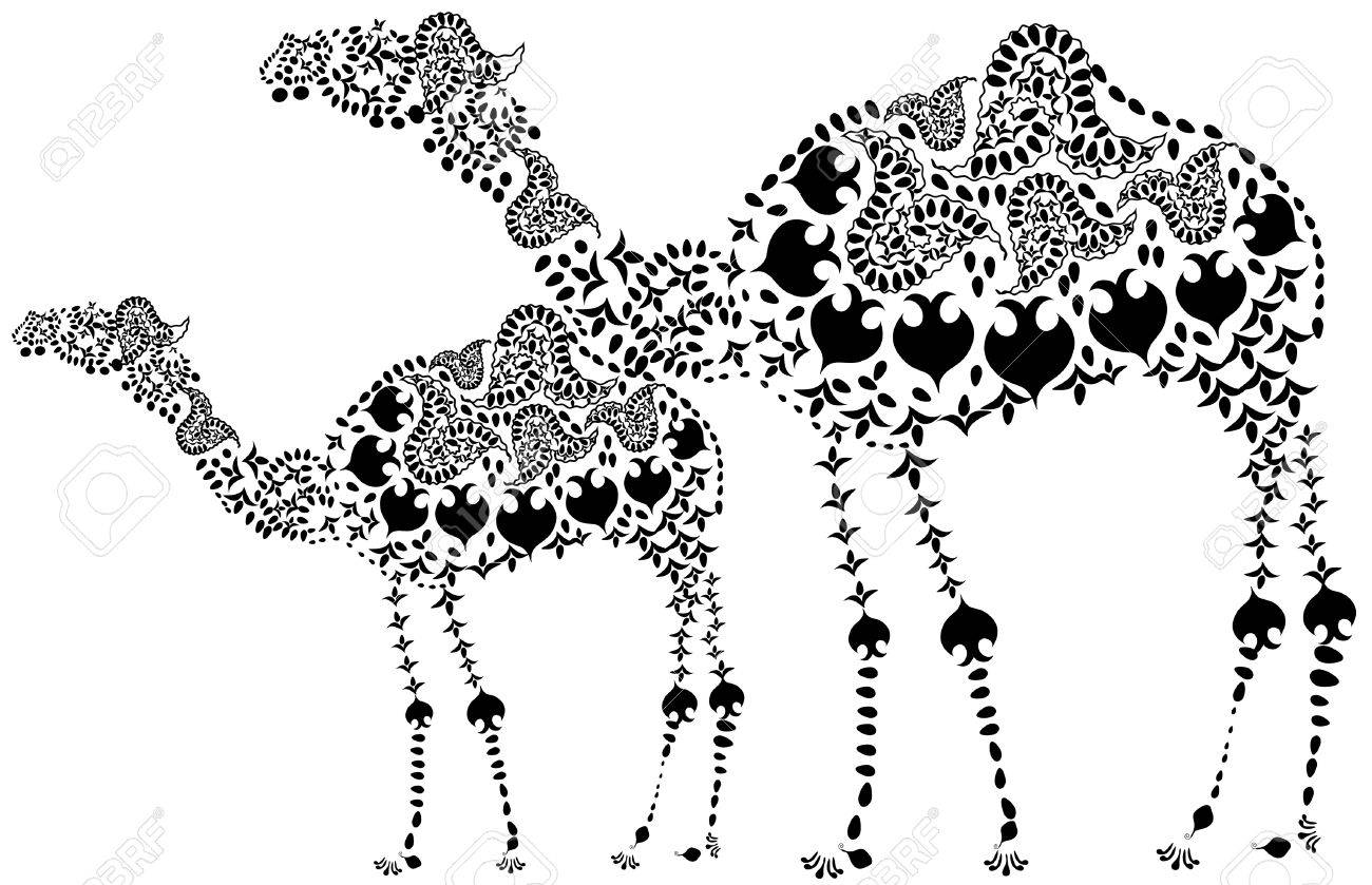 380 ethnic camel stock illustrations cliparts and royalty free