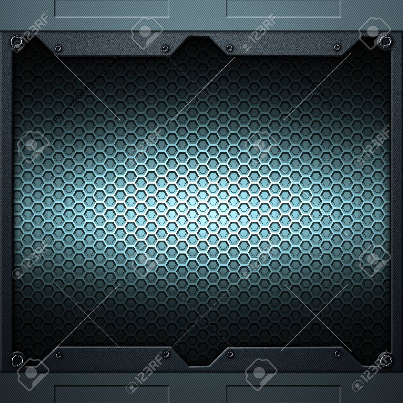 sci fi wall texture. Illustration - Scifi Wall. Carbon Fiber Wall And Rivet. Metal Background Texture 3d Illustration. Technology Concept. Sci Fi