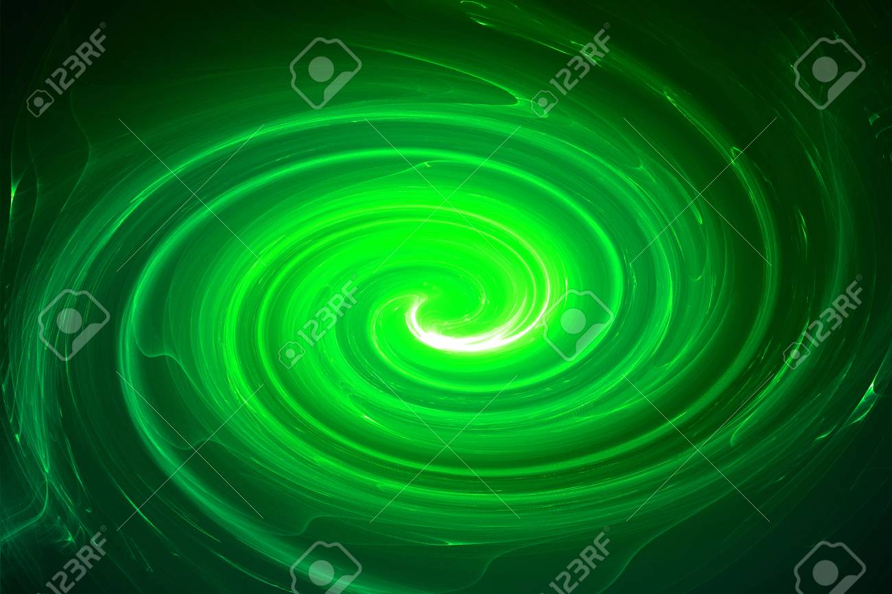 green circular glow wave. lighting effect abstract for game or scifi background. Stock Photo & Green Circular Glow Wave. Lighting Effect Abstract For Game Or ...