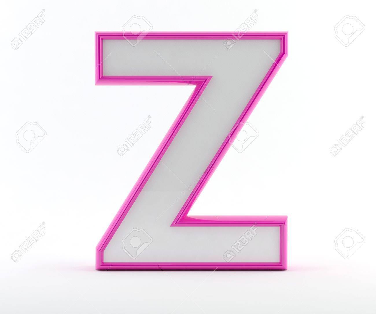 3d letter with glossy pink outline letter z stock photo picture 3d letter with glossy pink outline letter z stock photo 17503970 spiritdancerdesigns Image collections