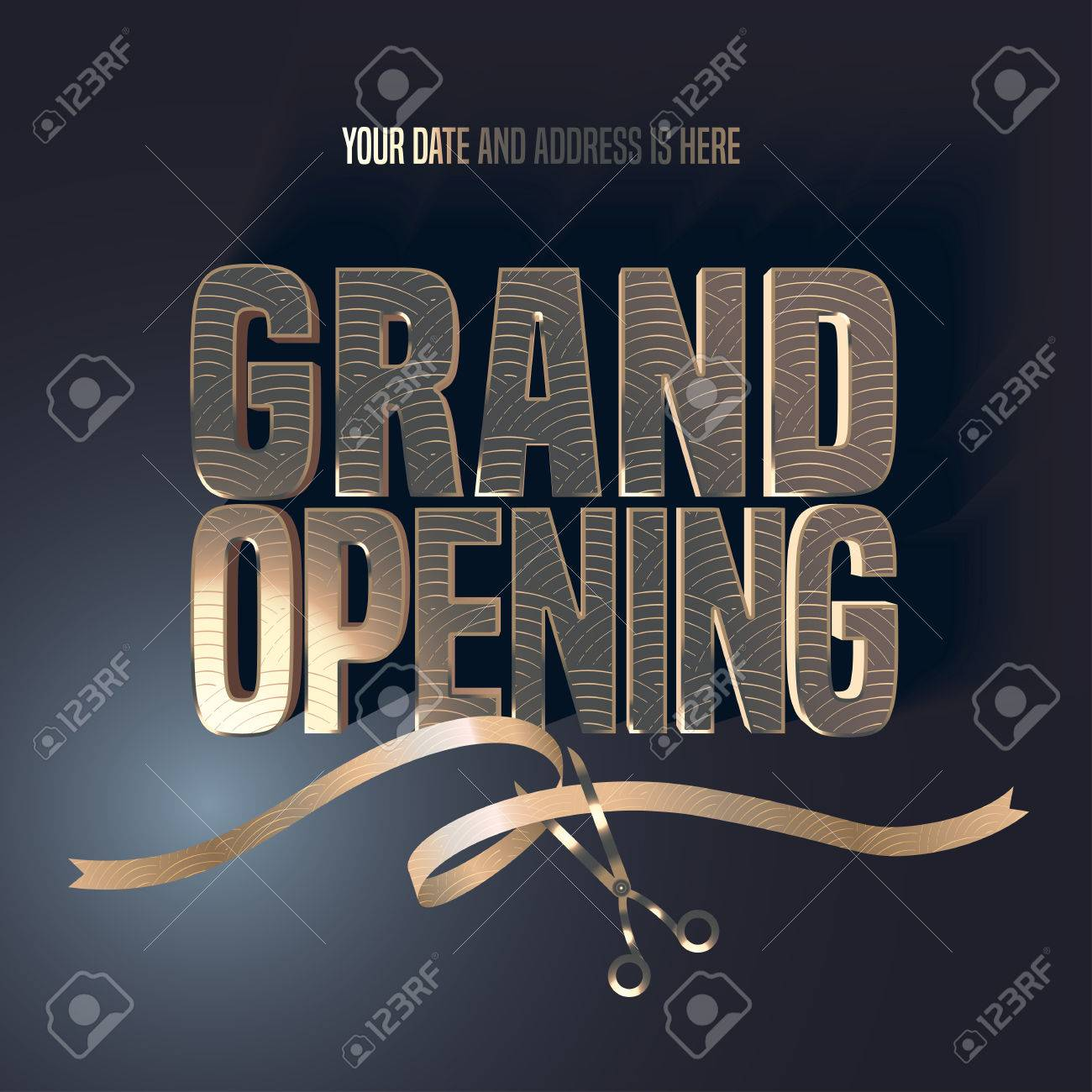 Awesome Grand Opening Template Pictures Inspiration - Entry Level ...