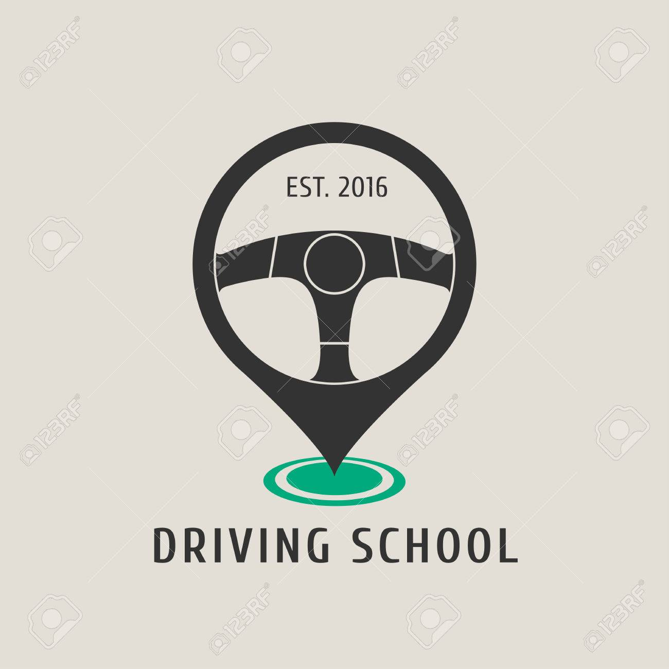 automobile driving school vector logo sign emblem steering royalty free cliparts vectors and stock illustration image 69002178 automobile driving school vector logo sign emblem steering