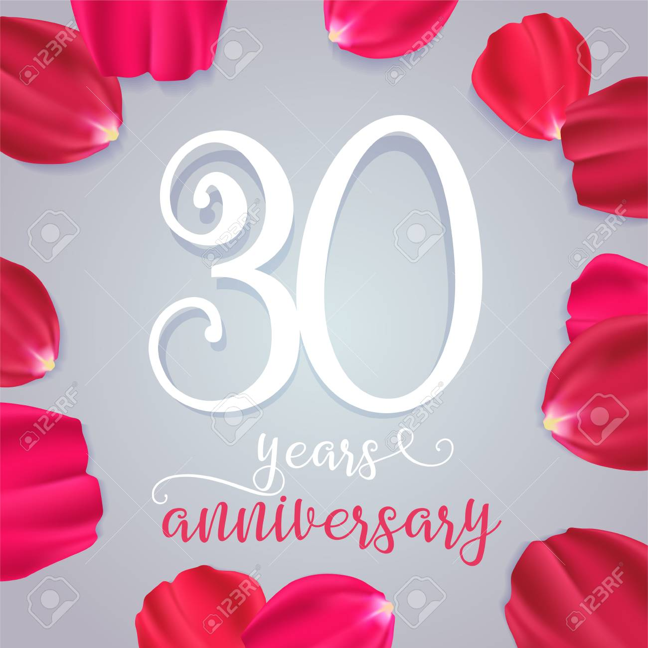 30 Years Anniversary Vector Icon Graphic Design Element With Royalty Free Cliparts Vectors And Stock Illustration Image 91534248