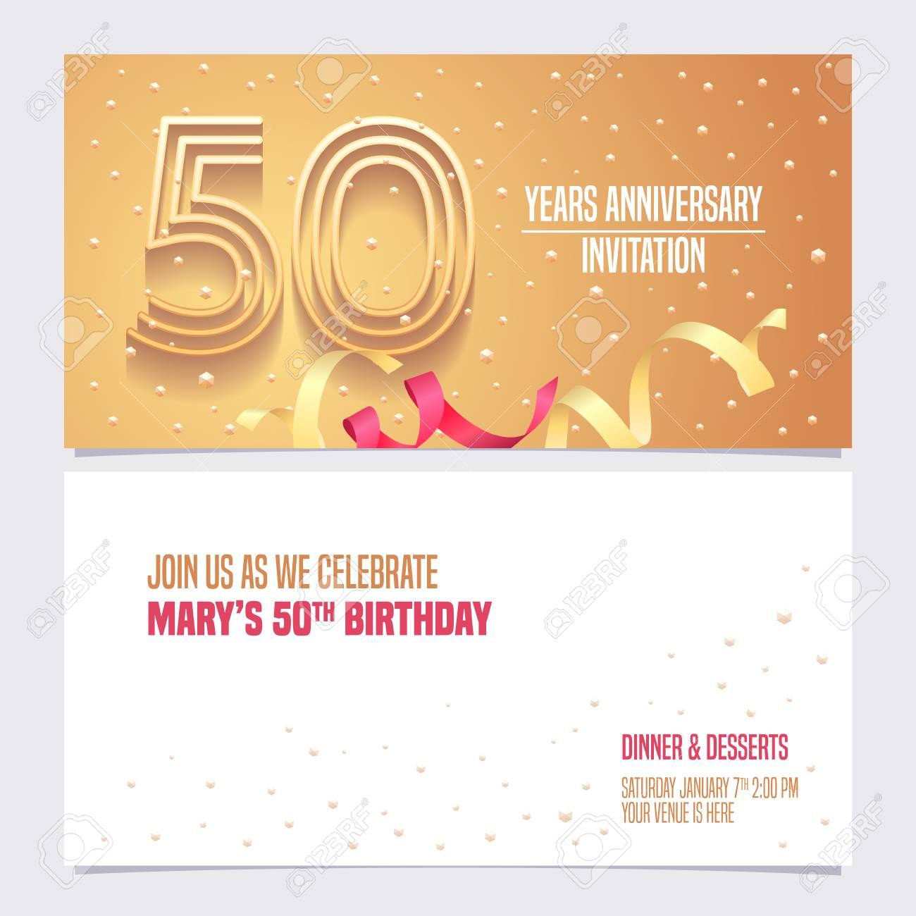 الذكرى الخمسين عيد ميلاد ناقلات, عيد ميلاد, زخرفة, المتجه PNG والمتجهات  للتحميل مجانا | Happy 50th birthday, Happy birthday wishes cards, Happy  birthday greetings