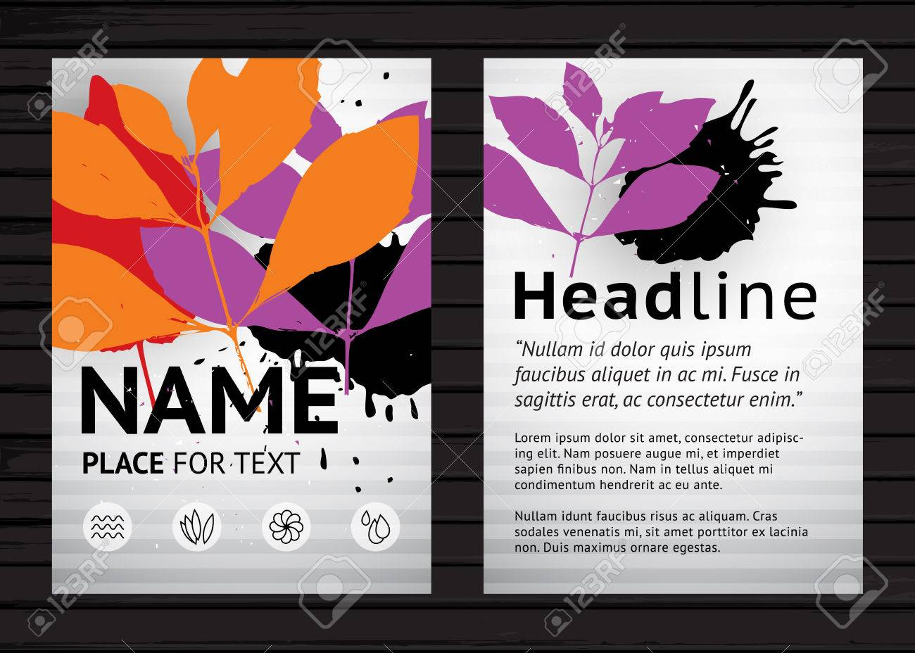 referral flyers template