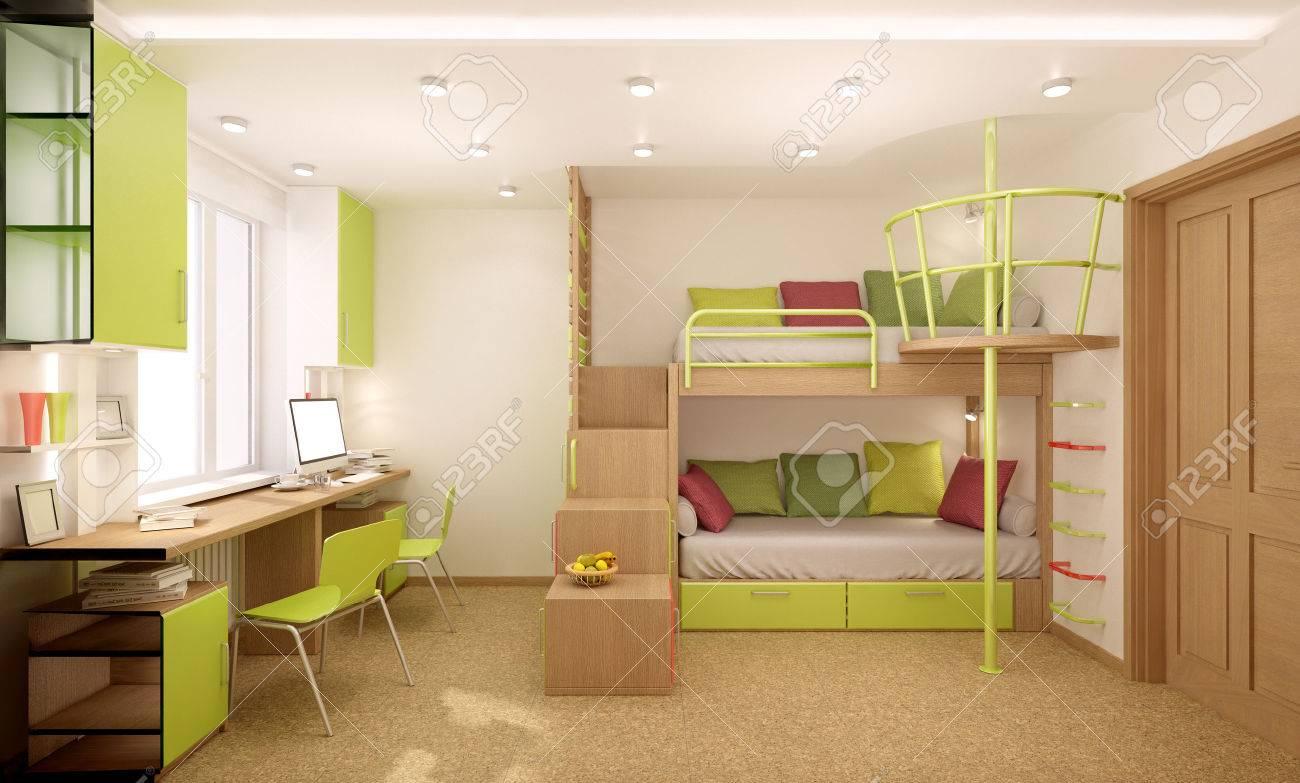 Etagenbett Für Zwei Kinder : Kinder etagenbetten paris monpetit kinderzimmer