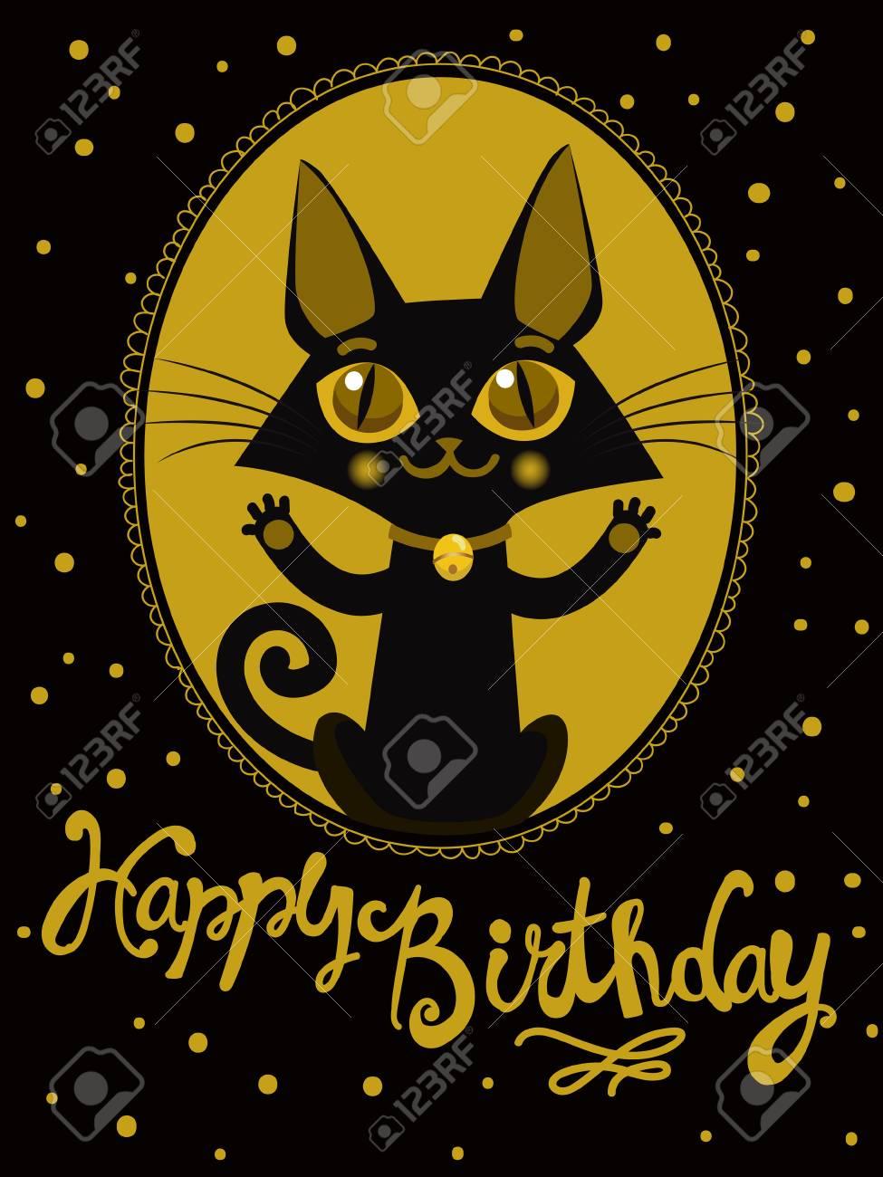 Alles Gute Zum Geburtstag Wunschen Handdrawn Beschriftung