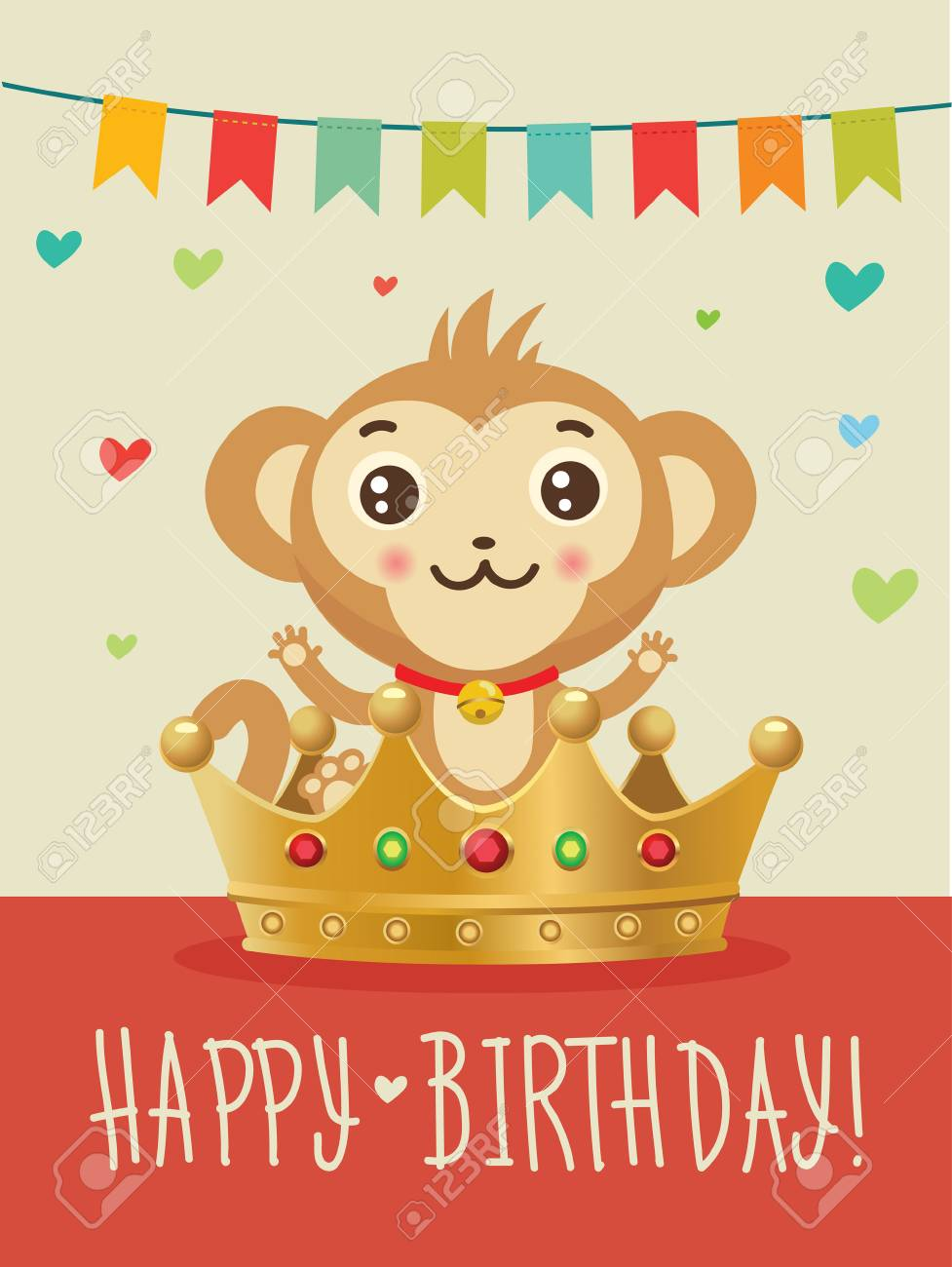 Happy Birthday To You Wish Humour Friendship Greeting Card Image