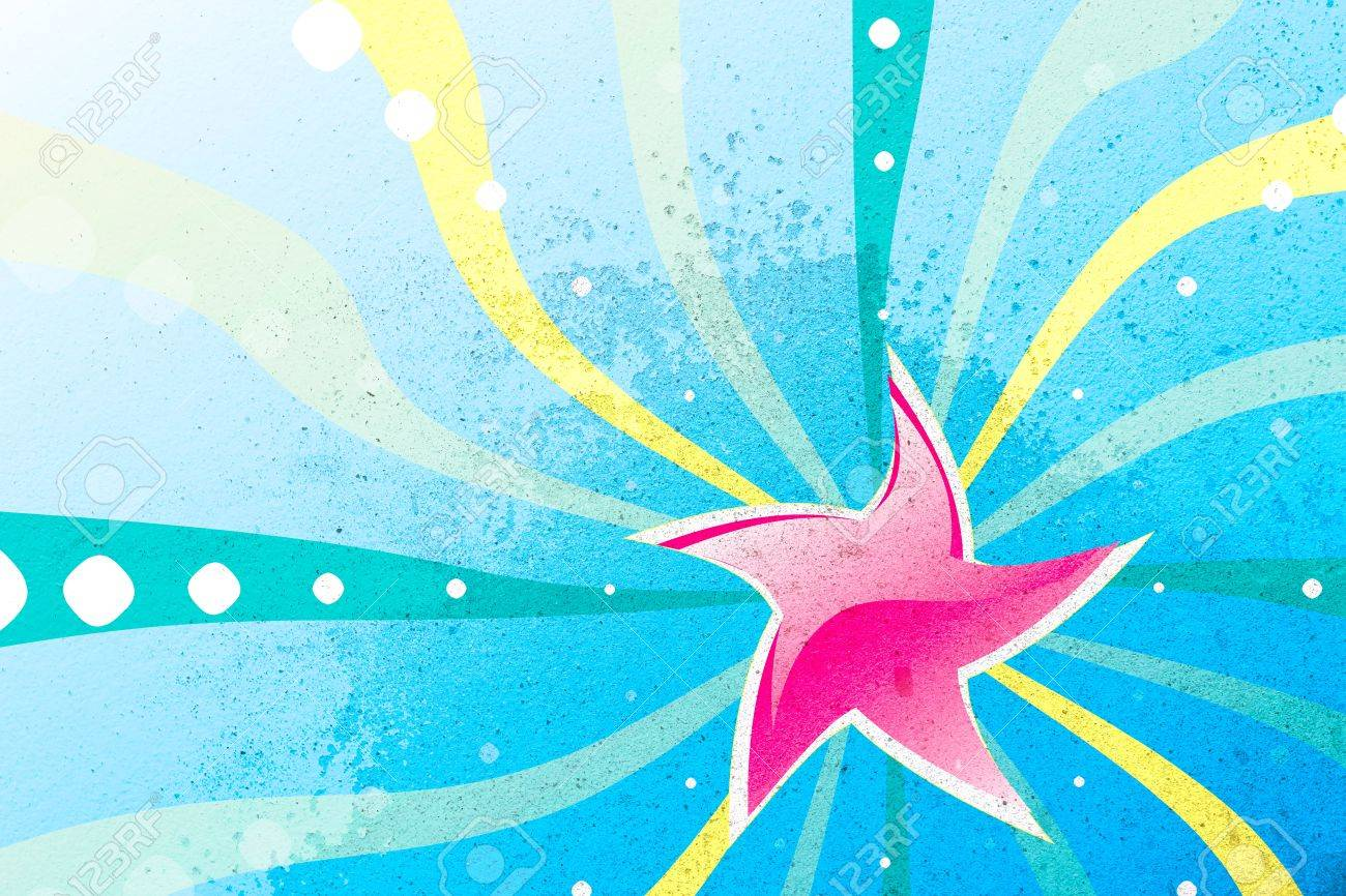A Picture Abstract Star Wallpaper and background Stock Photo - 13816817