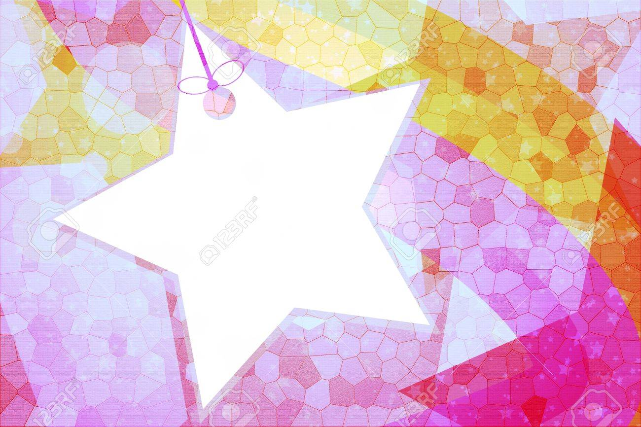 Abstract star for background and wallpaper Stock Photo - 14300989