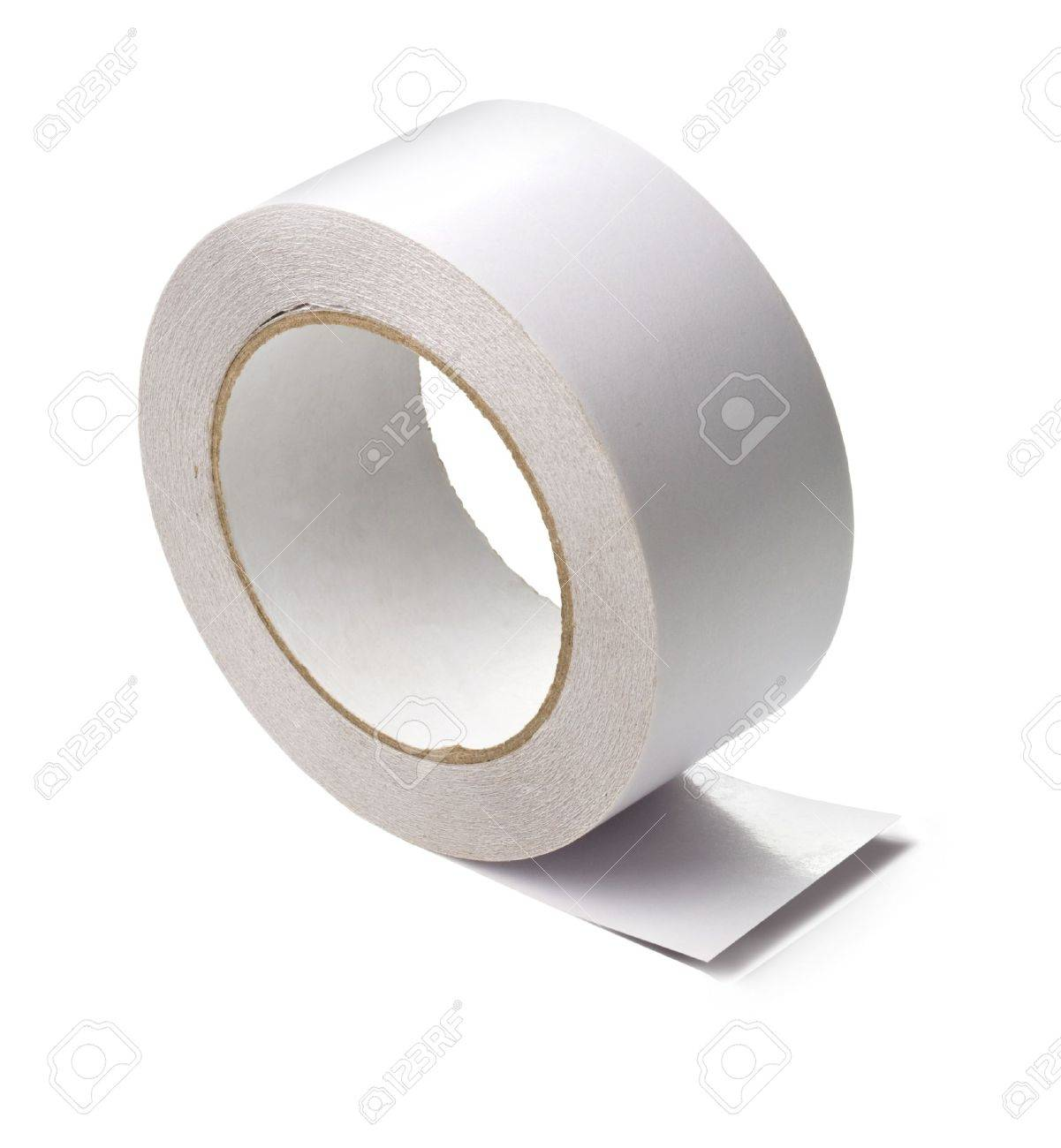 a roll of white adhesive tape Stock Photo - 14414276