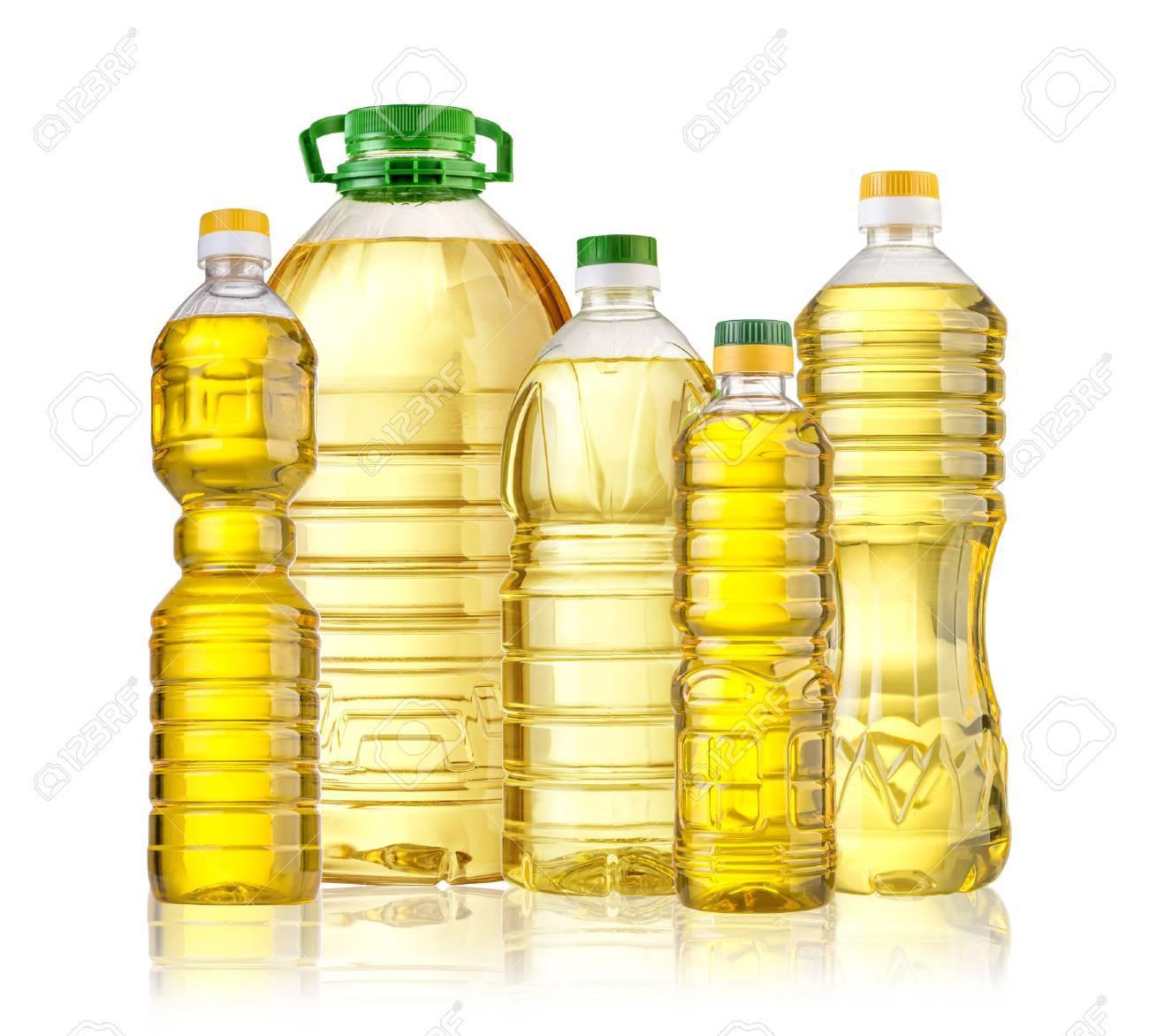 Olive oil bottle isolated on white backgrouund - 46797203