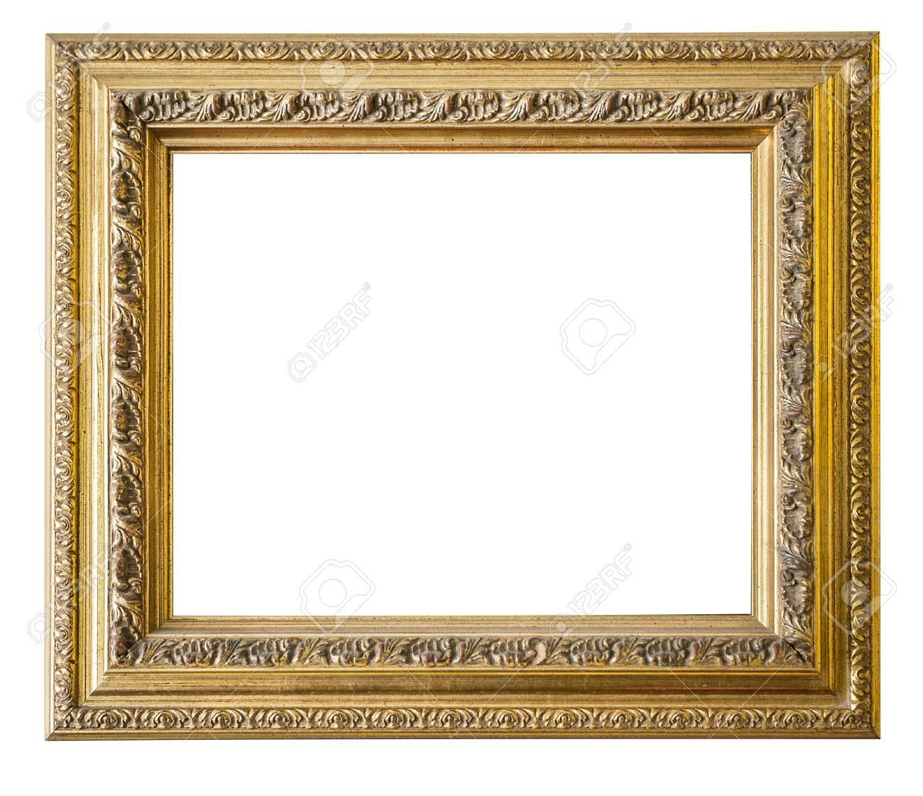 Goldrahmen. Gold / Vergoldeter Kunst Und Handwerk Muster ...