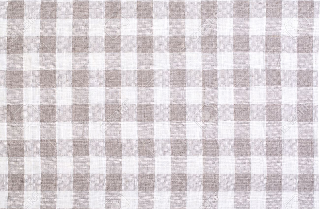 Superbe Checkered Tablecloth Texture Background Background Stock Photo   63455770