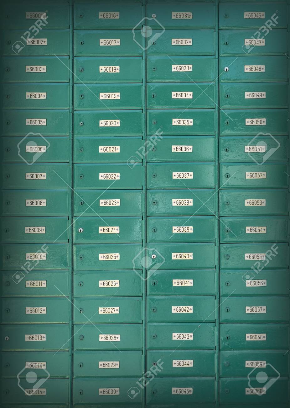 Po Boxes At Cyprus Post Office Stock Photo Picture And Royalty Free