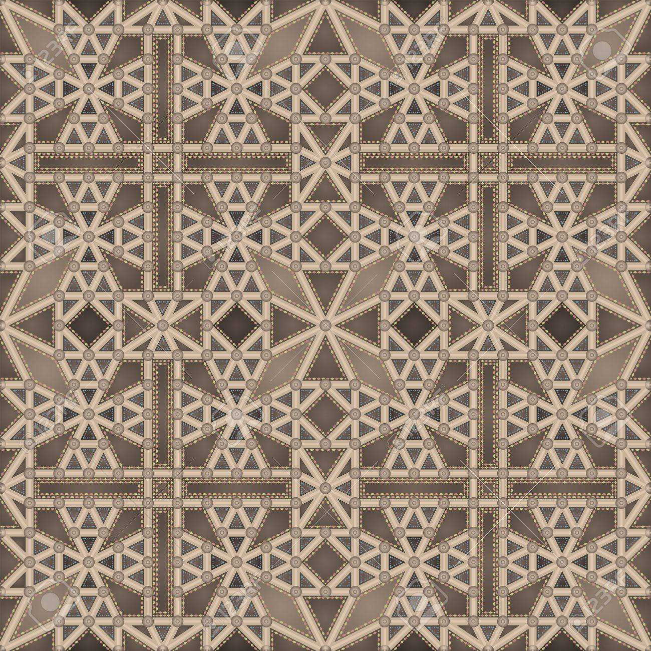 Gothic ceiling (seamless pattern) - 10033104