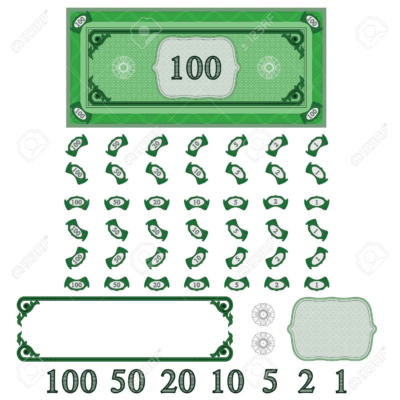 Play money (make your money set) - 12181417