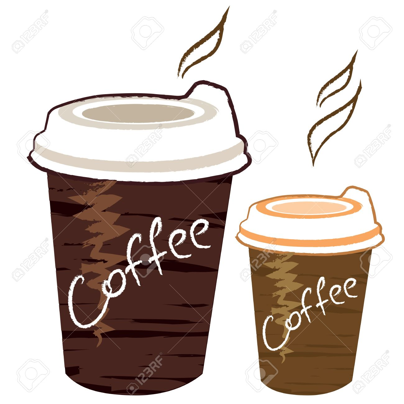 cup of coffee Stock Vector - 12855167