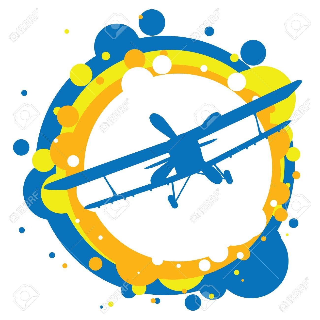 aircraft flying in the sky - 12980760