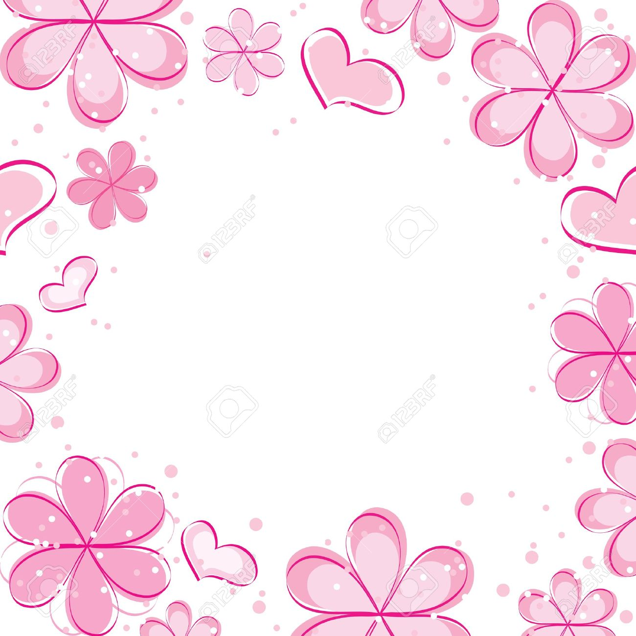 Vector abstract background with flowers royalty free cliparts vector vector abstract background with flowers mightylinksfo