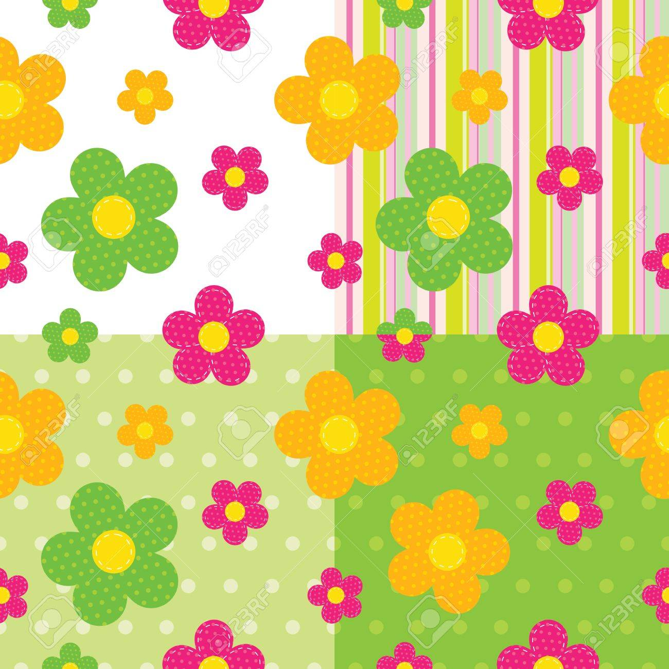 seamless baby pattern Stock Vector - 14530911