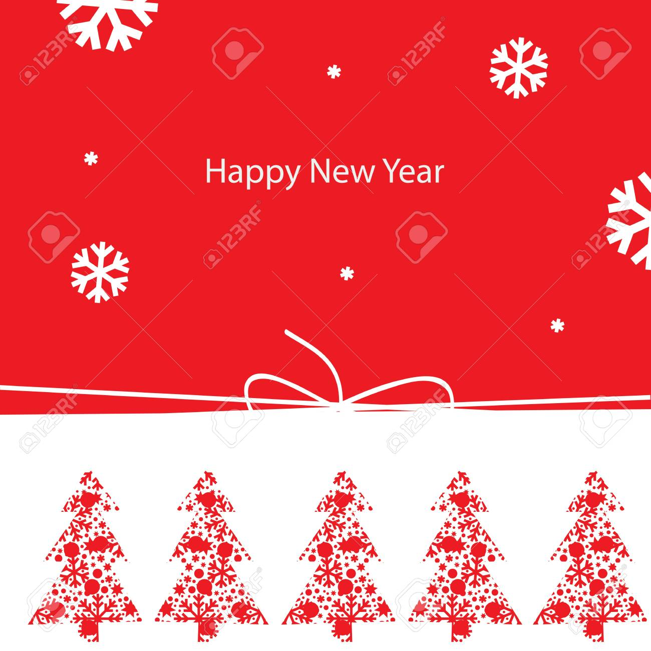 New Year greeting card Stock Vector - 15068120