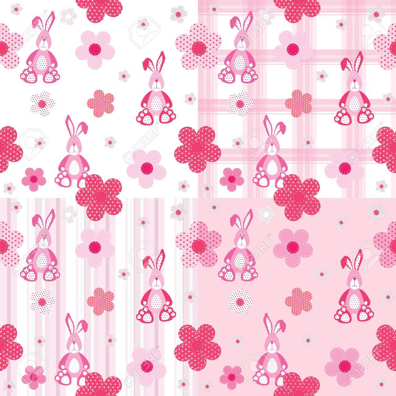seamless pattern for a baby Stock Vector - 15377986