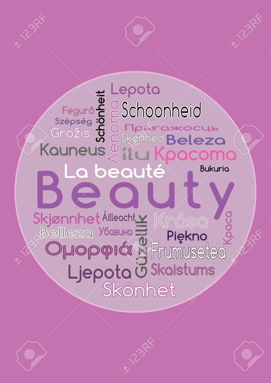 Beauty In Different Languages The Word