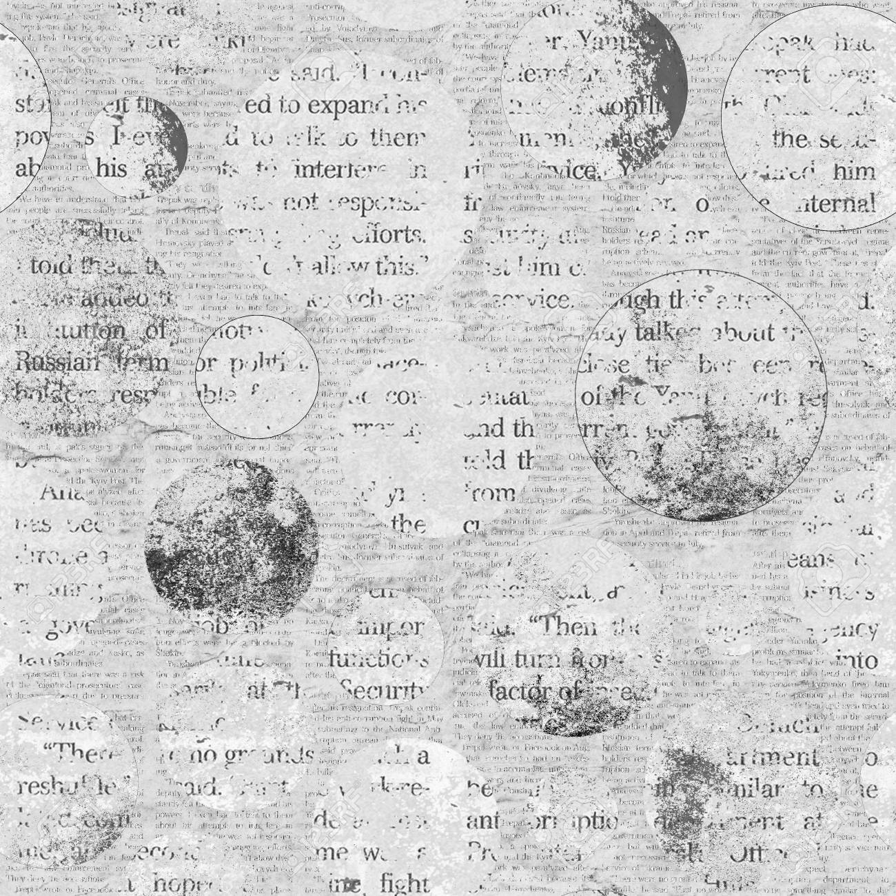 newspaper texture. news collage clippings with mixed unreadable