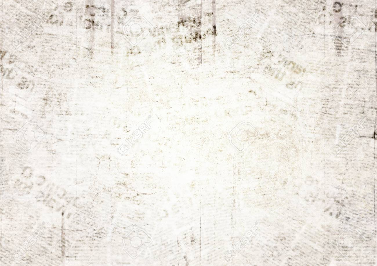 vintage grunge newspaper paper texture background. blurred old