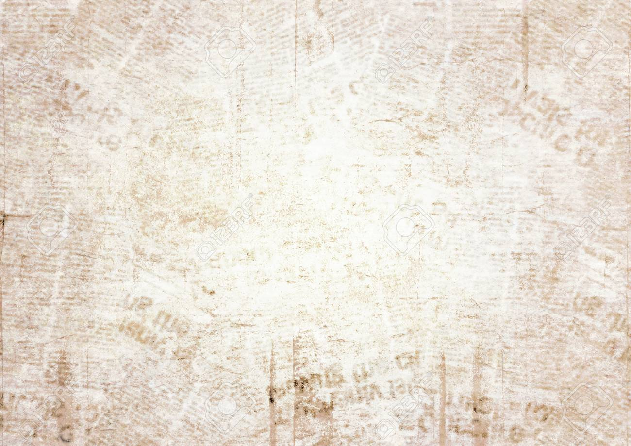 old grunge newspaper paper texture background. blurred vintage