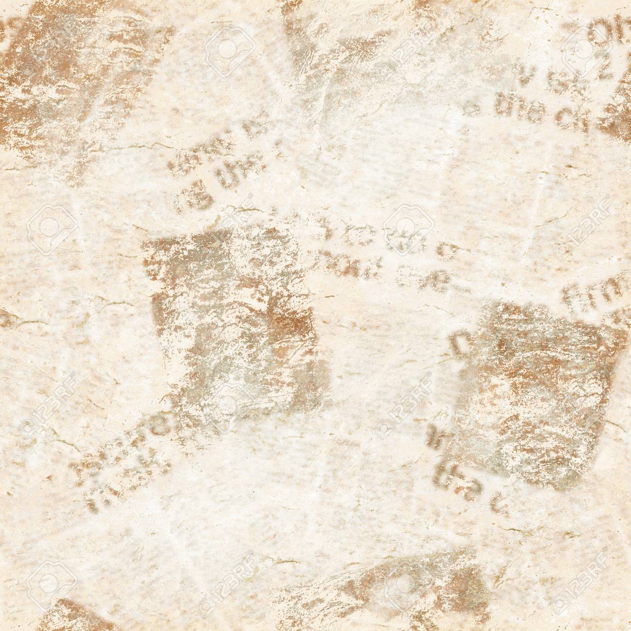 old grunge newspaper collage paper texture seamless pattern