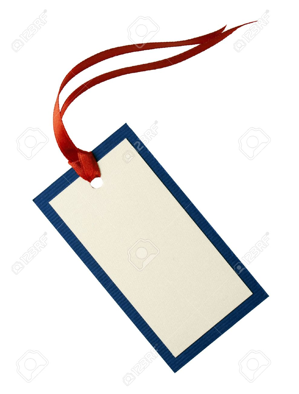 blank tag tied with string price tag gift tag sale tag address