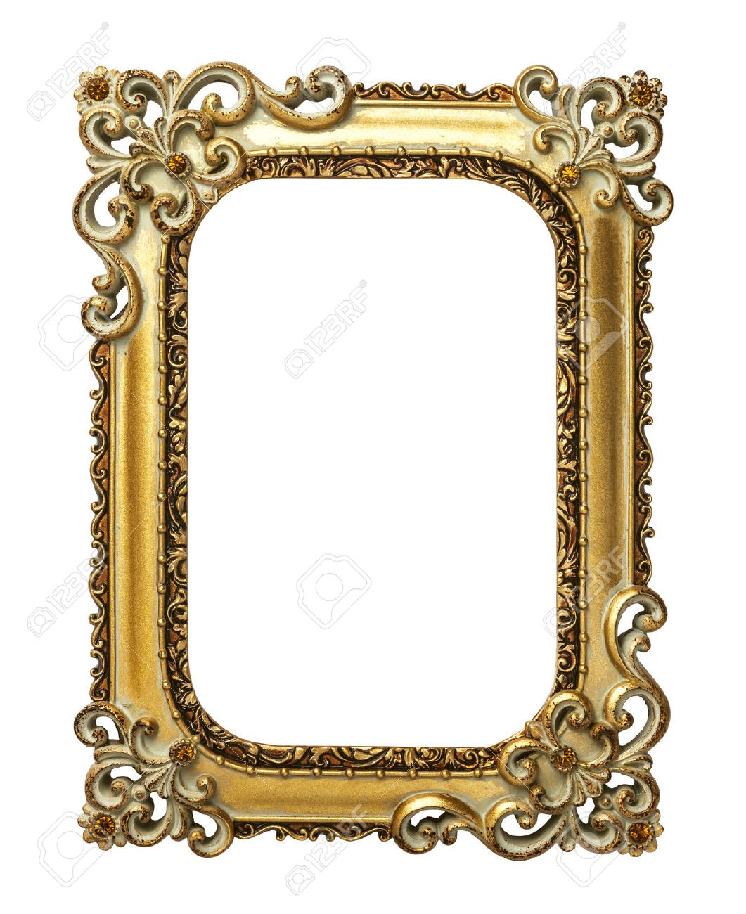 Mirror Frame Drawings Mirror Gold Vintage Frame