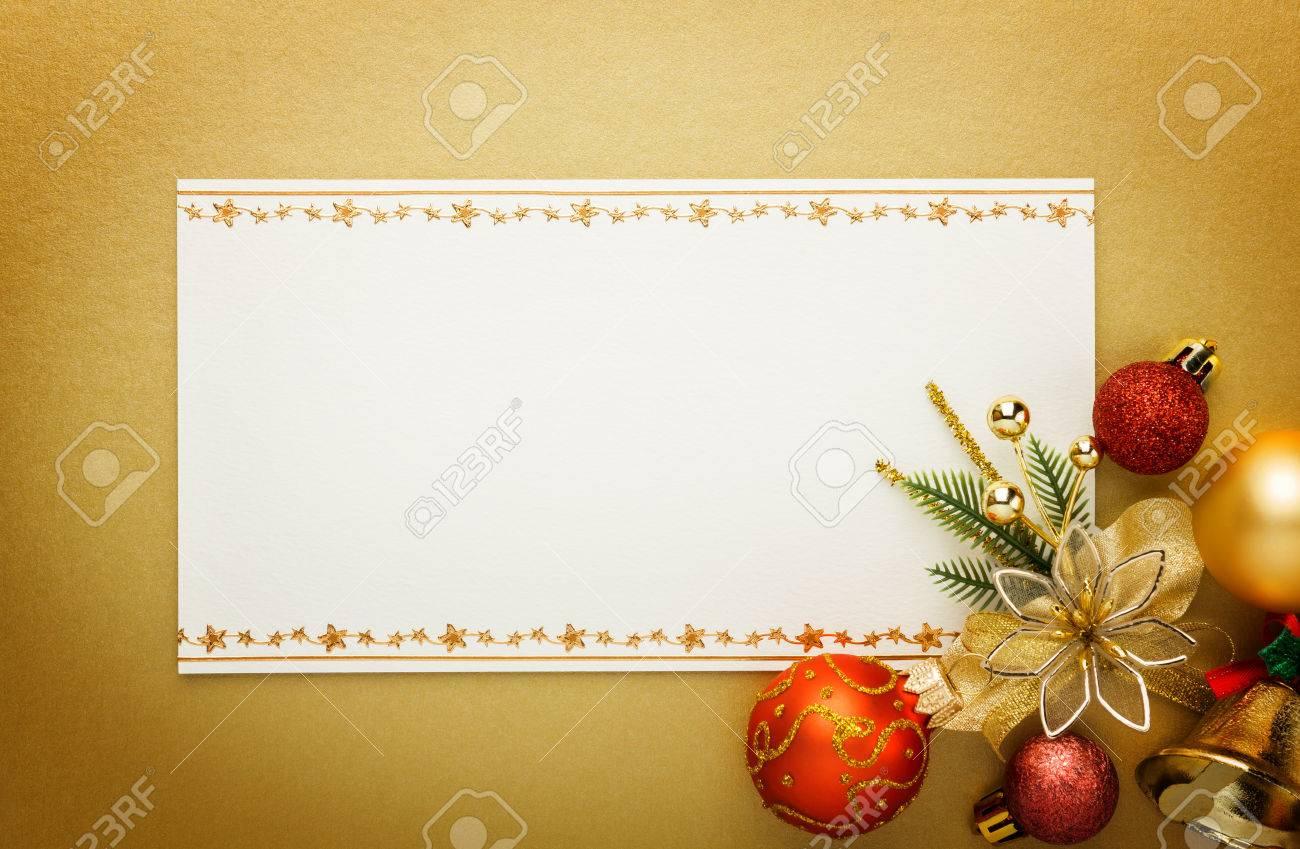 Holiday paper invitation card - 50192935