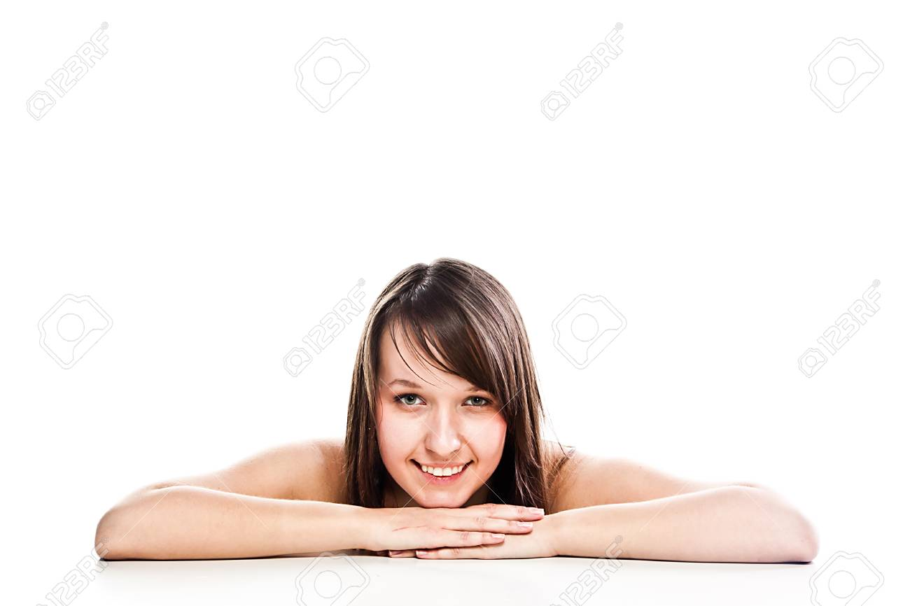 Image of a young and beautiful woman Stock Photo - 14696953