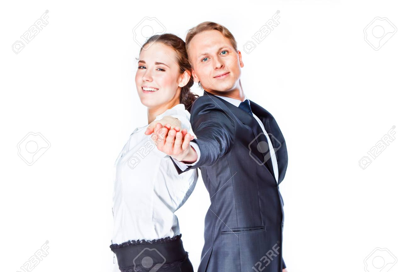Young and beautiful couple Stock Photo - 22178399
