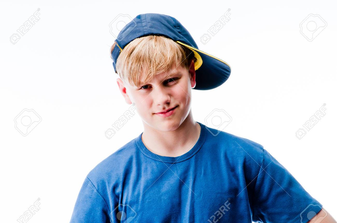 Young Cute Teen Guy Stock Photo, Picture And Royalty Free Image ...
