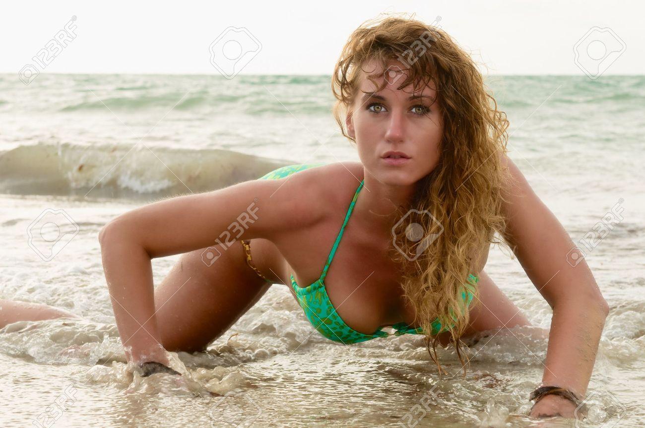 Beach Model Photos