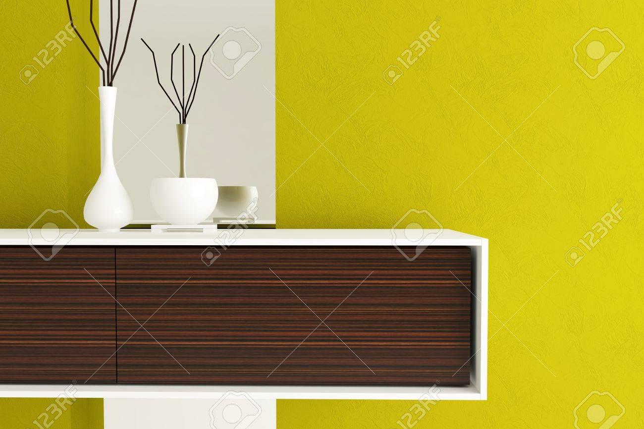 Detailaufnahme Des Modernen Wohnzimmer Möbel. Das Design Der ...