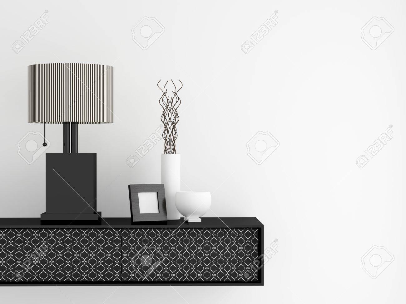 Detail shot of modern living room furniture. Interior design. Stock Photo - 14017025