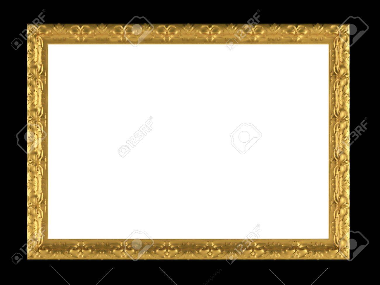 Bonito Marco De Oro Adornado Modelo - Ideas de Arte Enmarcado ...